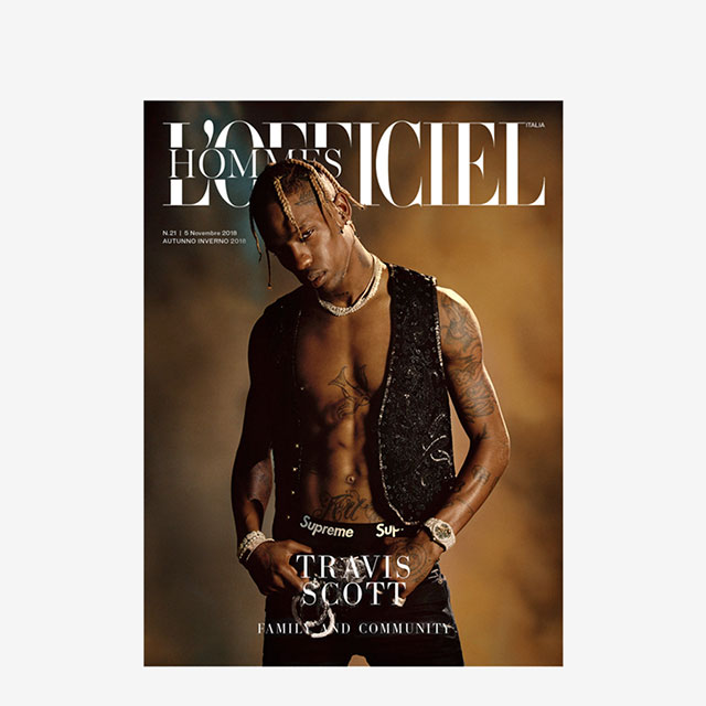 L'OFFICIEL: TRAVIS SCOTT x AMANDA CHARCHIAN