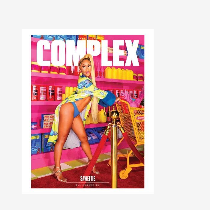 COMPLEX: SAWEETIE x ALEXANDRA GAVILLET